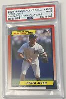 2019 Topps Transcendent VIP Party Through The Years /100 Derek Jeter PSA 9 1990