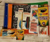 13 Piece Back to School Essentials Supplies Bundle Kit Notebooks Pens Pencils