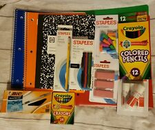 13 Piece Back to School Essentials Supplies Bundle Kit Notebooks Pens Pencils
