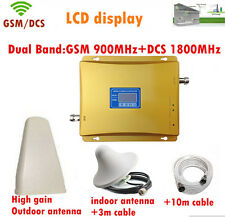 New dual-band GSM 900MHz and DCS1800MHz phone signal repeater booster amplifier