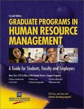 Graduate Programs in Human Resource Management: A Guide for Students, Faculty