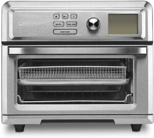Cuisinart TOA-65FR Digital Toaster Oven Airfryer Silver - Certified Refurbished