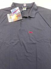 Nwt Vintage Le Tigre Polo Shirt Endorsed by Wilt Chamberlain Black Mens 2X