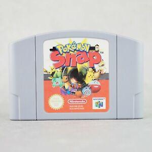 Pokémon Snap Original Nintendo N64 Spiel Game Retro Gaming Pokemon /549