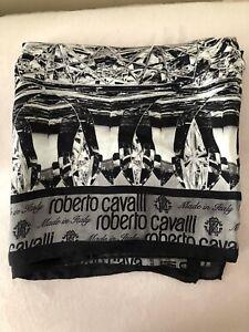 Roberto Cavalli Silk Square Scarf