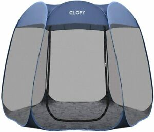 Screen House Room Pop Up Canopy Gazebo Instant Camping Tent Sun Shade Shelter
