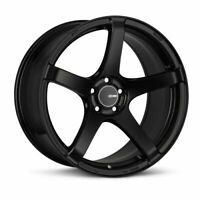 +30 5x114.3 476-895-6530BK Enkei Tuning Series Wheel//Rim KOJIN Black 18x9.5