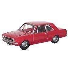 Oxford Red Diecast Cars, Trucks & Vans
