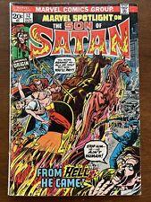 marvel spotlight 12 son of satan marvel comics