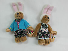 World Of Miniature Bears Dollhouse Miniature Bear #823 SET Eggbert & Eggberta