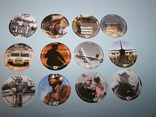 5th  Print About Uncir. 10 Cent  Set of AAFES  Pogs