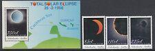 ASTRONOMY:NETHERLANDS ANTILLES 1998 Total Solar Eclipse set SGMS SG 1267-9+MS