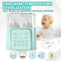 4 In 1 Intelligent Milk Warmer Hot Baby Bottle Steam Sterilizer Artifac 1@
