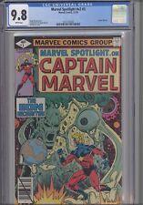 Marvel Spotlight V2 #3 CGC 9.8 1979 Marvel Captain Marvel Comic: New Frame