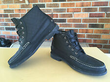 Cole Haan Pinch Campus Boot Black Men's Size 9M  C20209                   D20(5)