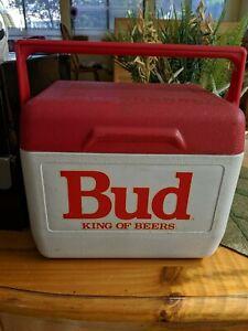 Bud King Of Beers Rubbermaid Cooler Budweiser vintage 1988