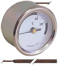 Elframo Thermometer für Fritteuse GWT12, GWDT12, GWT20, GWDT20 Einbau 52x75mm