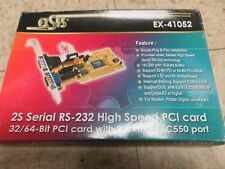 Exsys EX-41052 - PCI Card 2x Serial RS 232, PCI Controller
