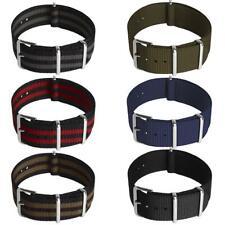 Nylon Bracelet Montre Watch Band Strap Militaire Sangle 18mm 20mm 22mm 24mm