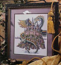 The Best of Teresa Wentzler Fantasy Collection Cross Stitch Dragon Unicorn