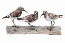 Archipelago Hand Carved Wooden Birds Knot Block