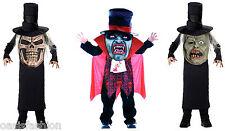 KIDS BOYS HALLOWEEN COSTUME VAMPIRE ZOMBIE EVIL MR HYDE FANCY DRESS OUTFIT
