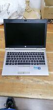 """12"""" NOTEBOOK HP ELITEBOOK 2570P B840 RAM 120GB SSD WEBCAM W7P LEGGERE BENE"""