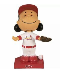 St. Louis Cardinals Lucy Peanuts Bobblehead SGA 6/8/21 NIB