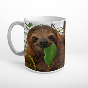 Faultier Wildnis Tier Tasse Kaffeebecher T1085