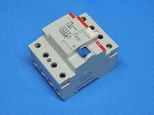 ABB F 364 63A   0,03A Schutzschalter FI Schalter  4 pol ein Riß inkl. Rechnung