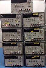Agilent / HP E3631A 80W Triple Output Power Supply - 6V, 5A & ±25V, 1A