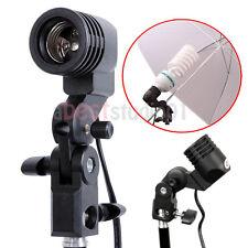 Photography Photo Light Lamp bulb Single Holder E27 Socket Bracket Studio EB
