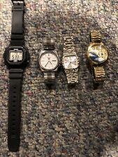 Used Watch Lot Mens Seiko Casio