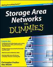 Storage Area Networks (SANs) For Dummies, Acceptable, Nikitin, Alex, Poelker, Ch