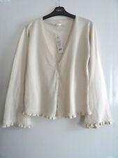 LADIES WOMEN GORGEOUS DESIGNER FULL CIRCLE AUTUMN WINTER CARDIGAN SIZE 12 NEW