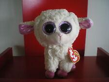 W-f-l Ty Beanie Boos Easter Halloween Christmas Selection Stuffed Toy Daria Sheep 15 Cm