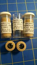 Sonic S7 3 Pairs .790 tall 3/32 axle Tan Colored Rubber from Mid America
