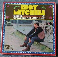 Eddy Mitchell, toi sans moi, EP - 45 tours - verso carré rose