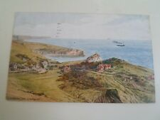 A R QUINTON Postcard 3623 Lulworth Cove, From Above Franked 1959    §A2006