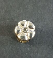 Lovelinks Sterling Silver Flower with CZ Charm