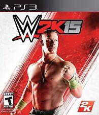 NEW WWE 2K15 (Sony Playstation 3, 2014)