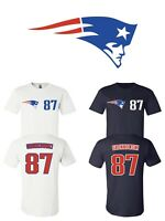 Rob Gronkowski #87 New England Patriots Jersey player shirt