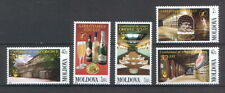 Moldova 2002 National Wine Festival 5 MNH Stamps