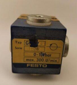 Festo Rotatif Distributeur Gf-1/4 182R 0-10 Barre Max. 300 U / Minute