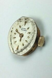Lucien Piccard Swiss Wrist Watch For Parts Not Working Movement Vintage Piece