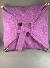 Handmade Insulated Purple Casserole Carrier
