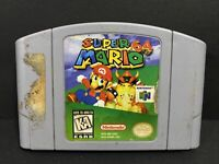 Super Mario 64 - N64 Nintendo 64 1996 - Authentic Game Cartridge - TESTED WORKS