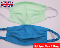 Face Mask Reusable Washable Mouth Cotton Cover UK triple layer UK Fast Delivery