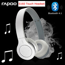 Rapoo S160 Bluetooth Touch Headset Stereo Headphone Earphone for iPhone Samsung