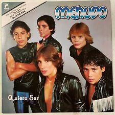 Menudo - Quiero ser - USED LP VINYL RECORD - 1982 PROFONO 9085